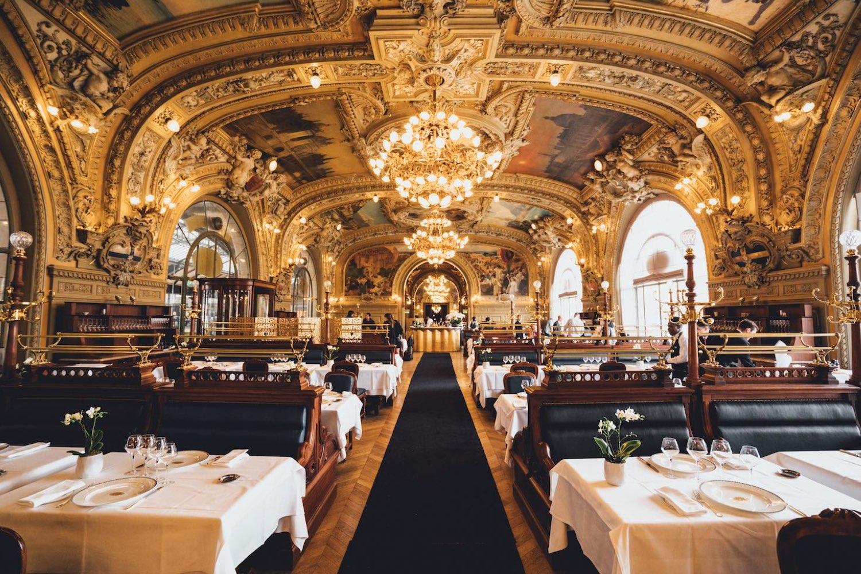 Extrêmement Le Train Bleu, best restaurant gare de lyon, bastille restaurant ST63